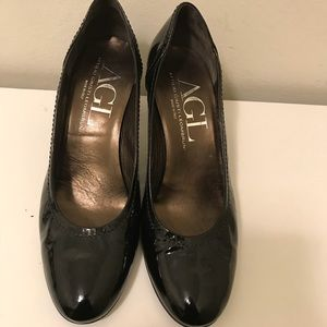 AGL women's patent leather heels size 42
